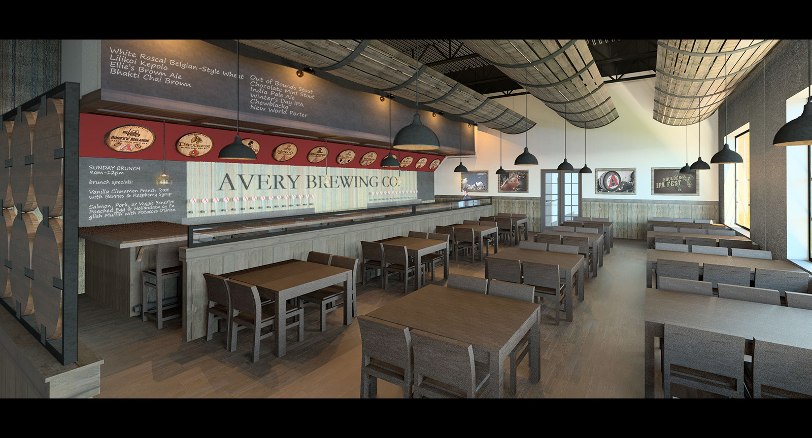 Avery Brewing Company Boulder Colorado Rendering