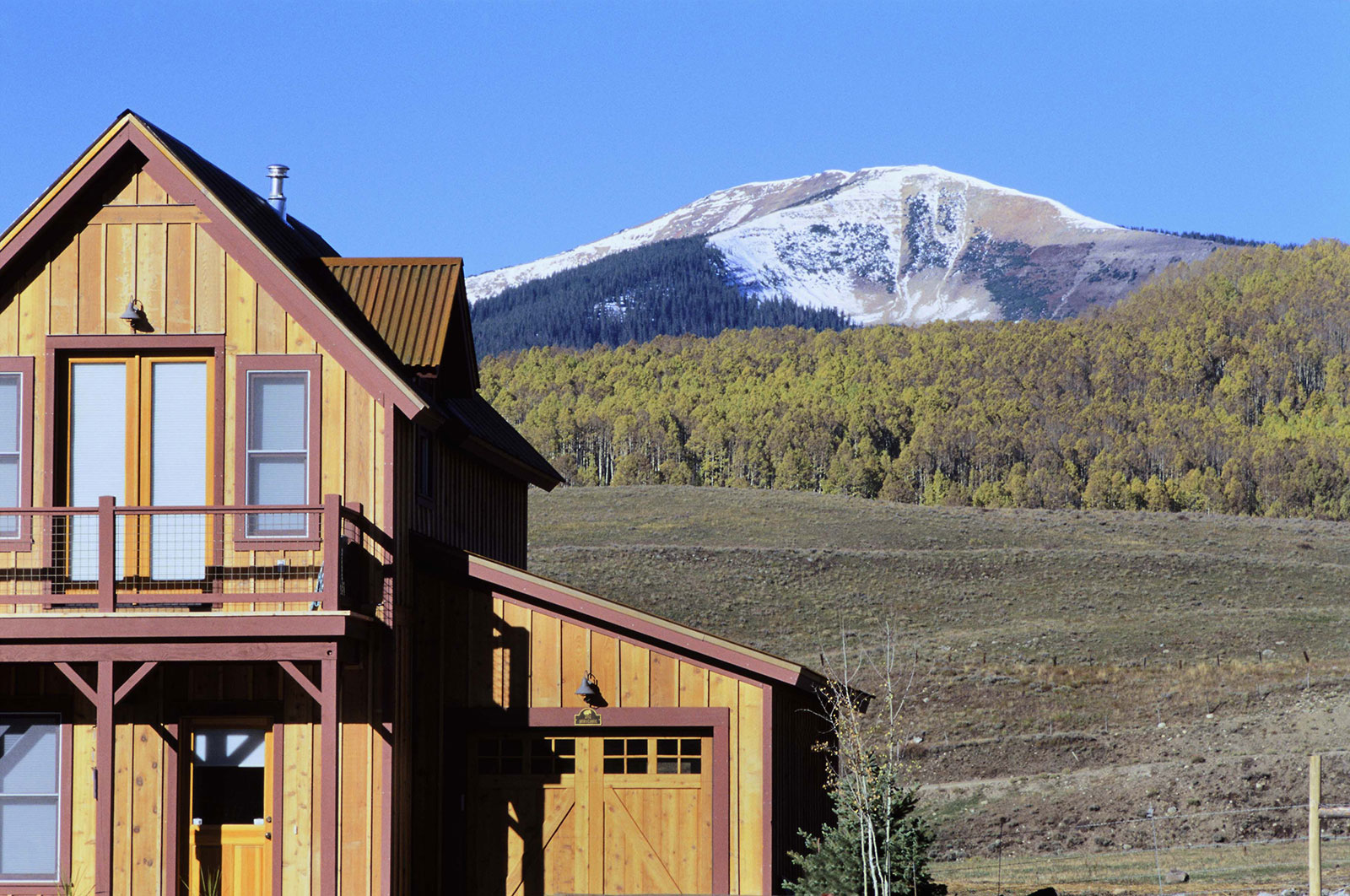 Pitchfork Neighborhood Crested Butte Colorado
