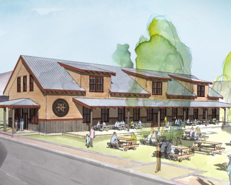 Breckenridge Brewery Restaurant Rendering Zoom